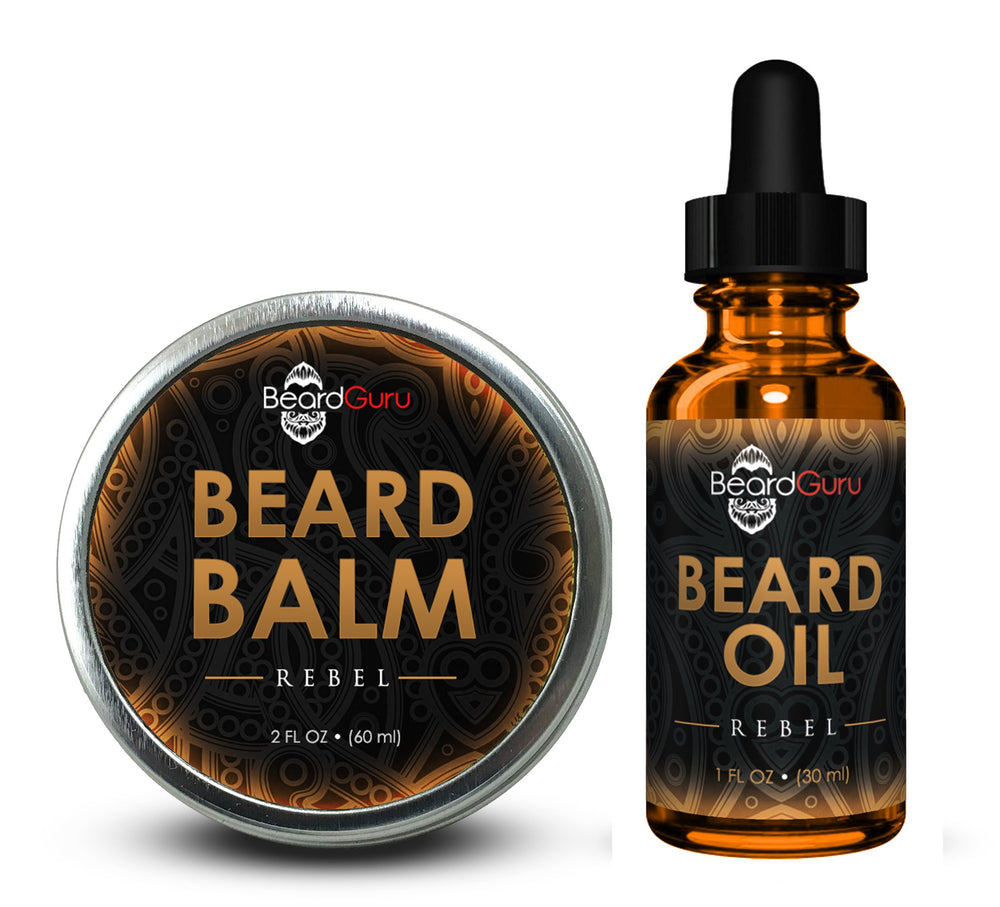 BeardGuru Premium Beard Balm: Rebel