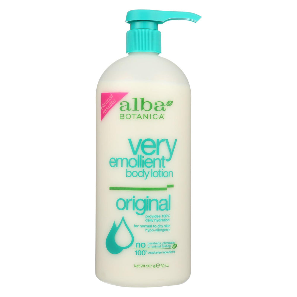 Alba Botanica - Very Emollient Body Lotion - Original - 32 Fl Oz