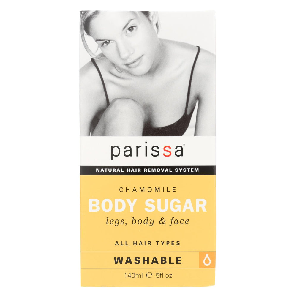 Parissa Hair Remover Chamomile Body Sugar - 6 Oz