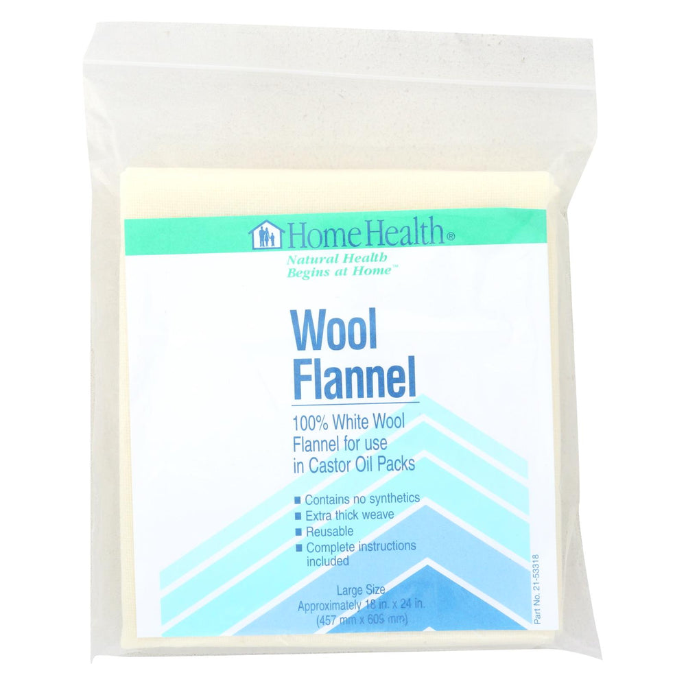 Home Health Wool Flannel Large Size - 1 Cloth