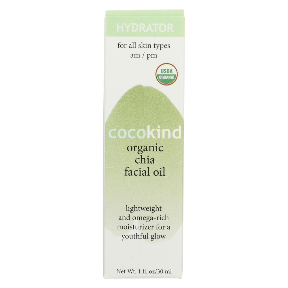Cocokind Organic Facial Oil - Chia - 1 Fl Oz