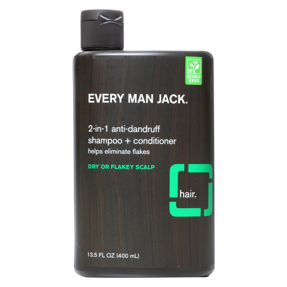 Every Man Jack Shampoo - 2in1 - Anti-dandruff - 13.50 Fl Oz