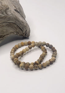Picture Perfect Jasper Beaded Bracelet