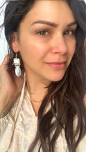 Load image into Gallery viewer, Beachy Feels Shell Dangle Earrings