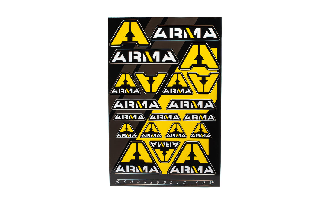 ARMA Sticker Sheet