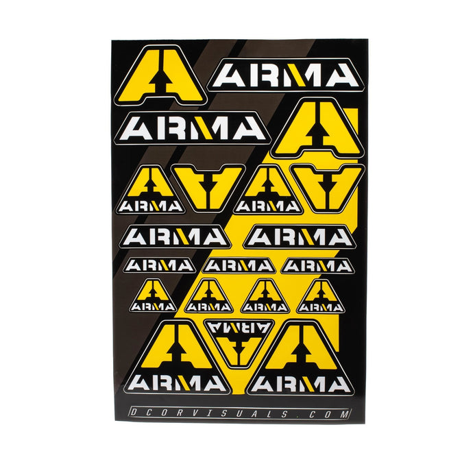 ARMA Sticker Sheet - Arma Sport