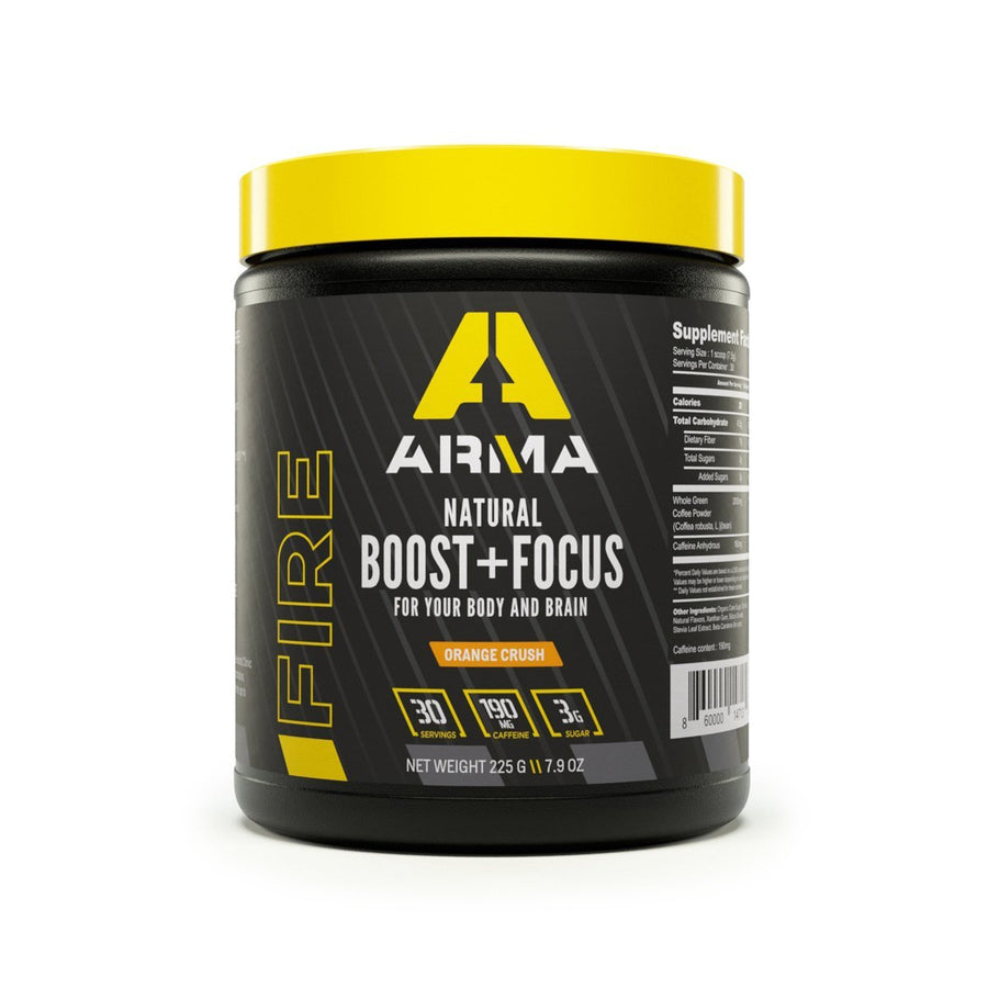 FIRE: Natural Boost + Focus - Arma Sport