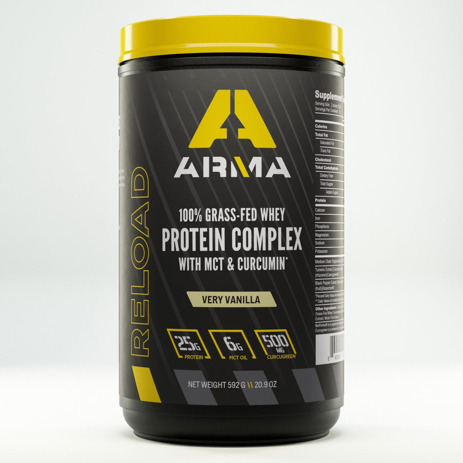 RELOAD: Protein Complex 20.9oz - 16 Serving Tub - Arma Sport