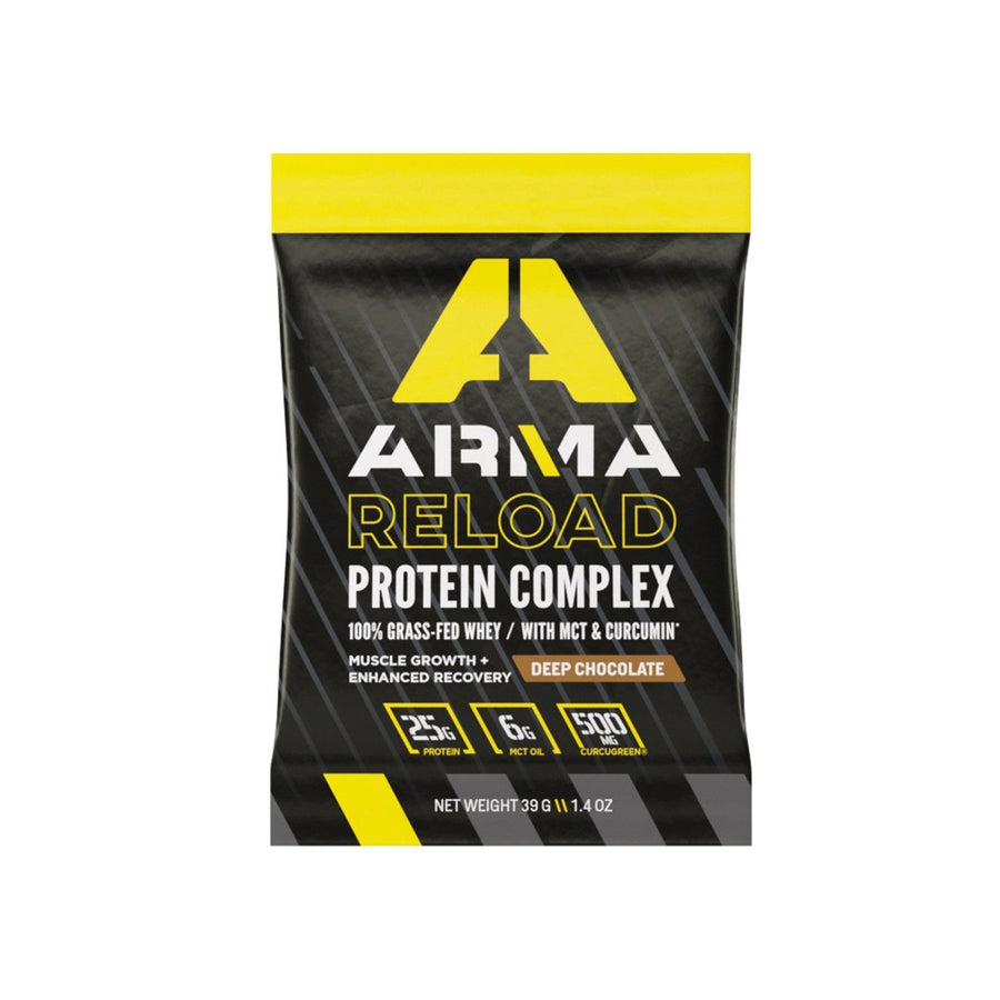 RELOAD: Protein Complex - Chocolate Single Serve Box - Arma Sport