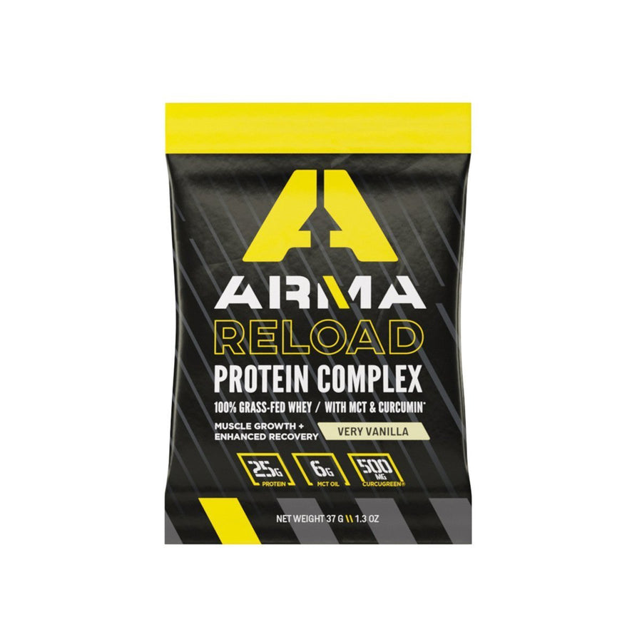 RELOAD: Protein Complex - Vanilla Single Serve Box - Arma Sport