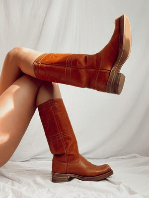70's Leather Boots (8)