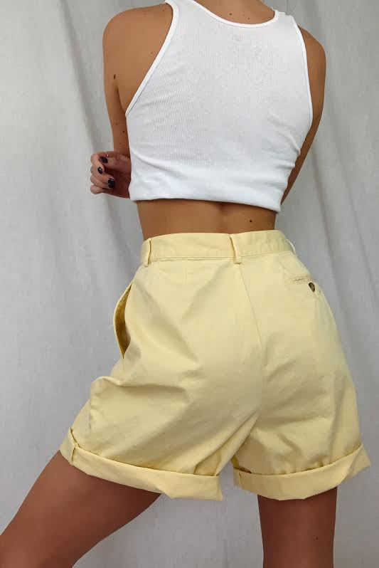 Softest Butter Pleated Shorts