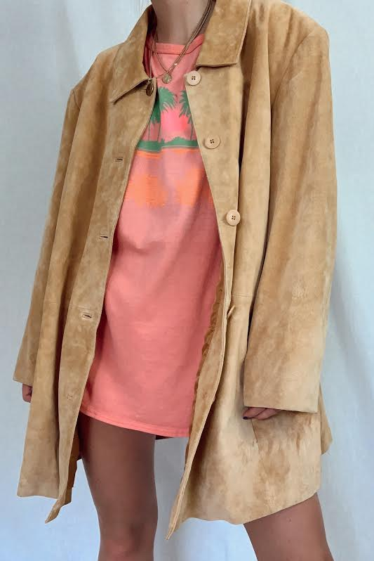 Washable Suede Jacket