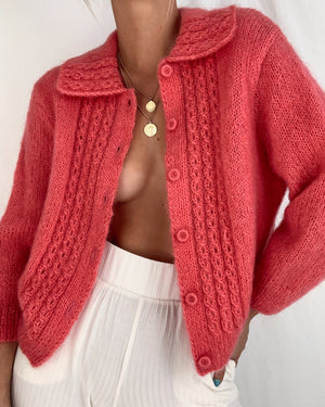 Vinage Hand Knit Cardigan (S)