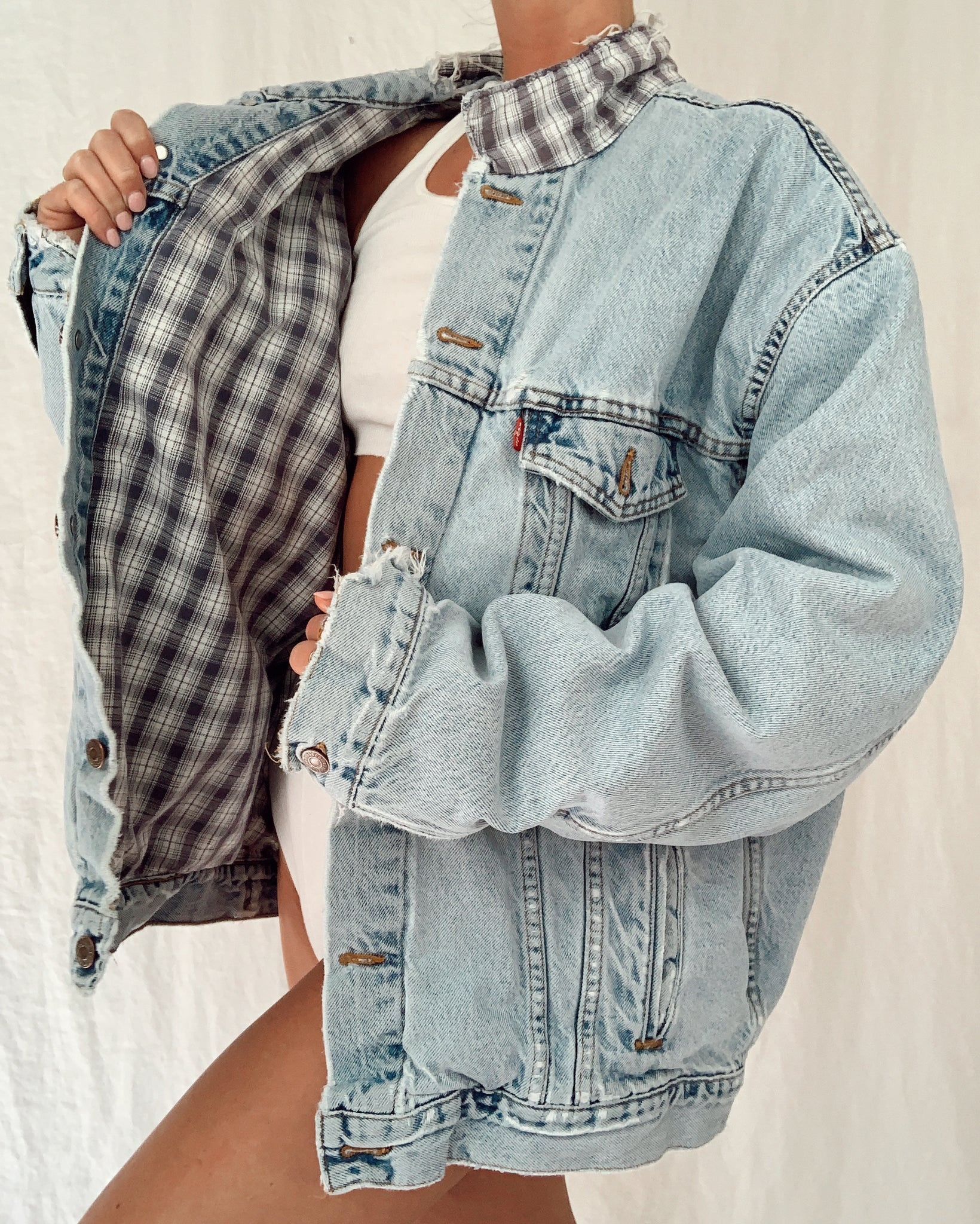 Flannel Lined Levi's Jacket