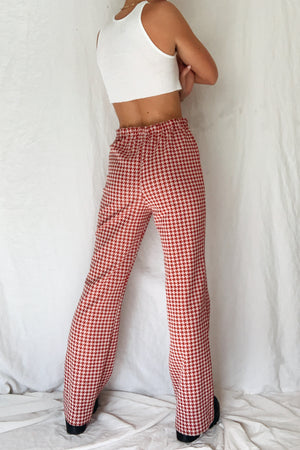 70's Herringbone Trousers