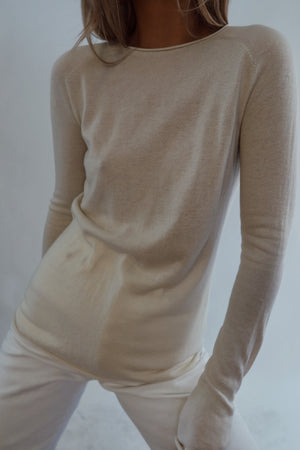 Silk / Cashmere Long Sleeve (S)