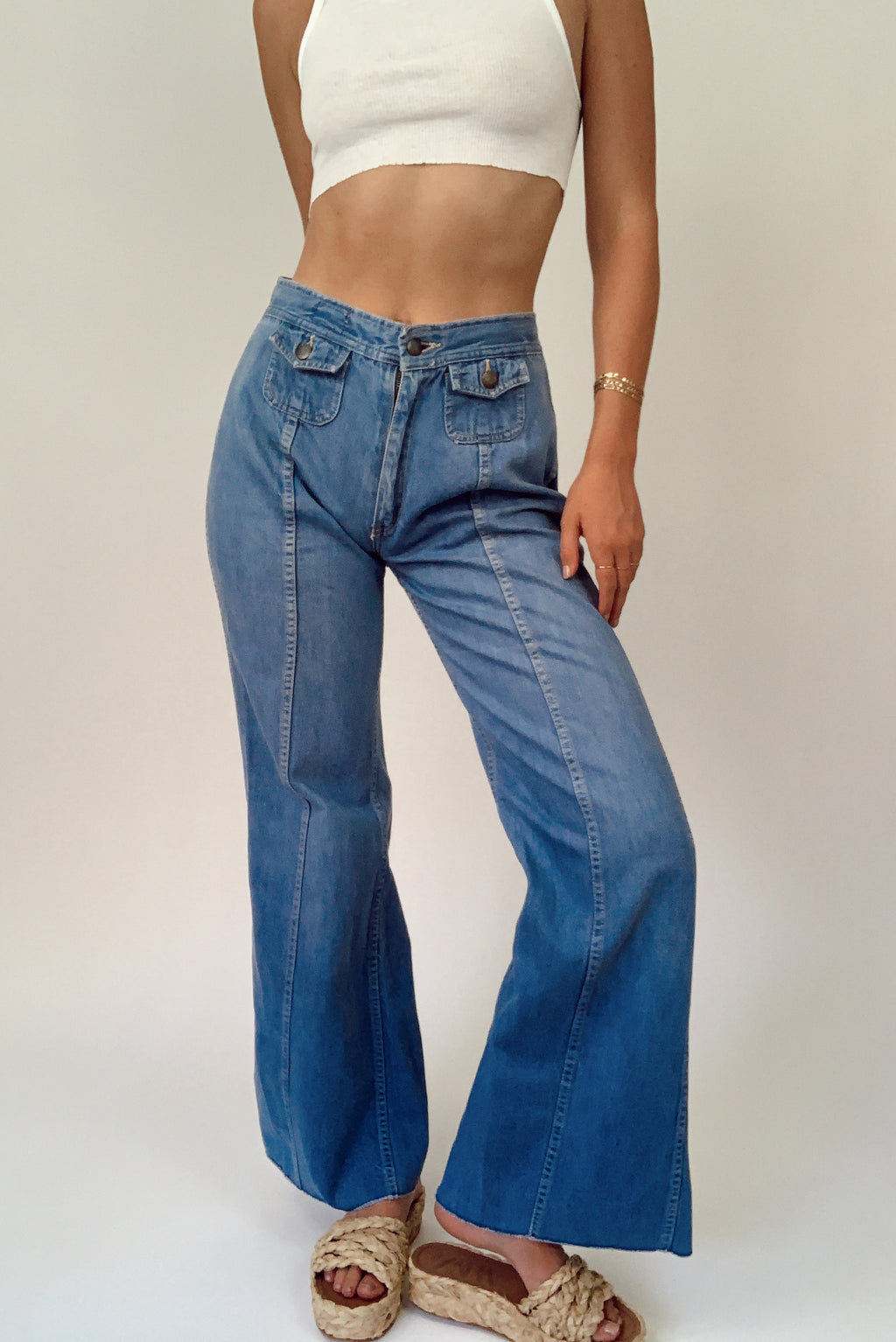 Softest Denim Bell Bottoms (26)
