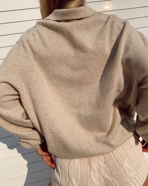 Wool / Cashmere Sweater Made in Italy (S-L)