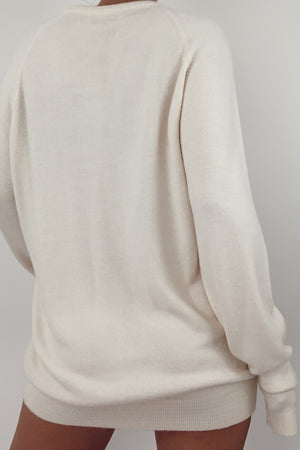 Cream Christian Dior Knit (S-L)