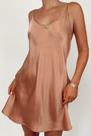 La Perla Silk Slip Dress (M)