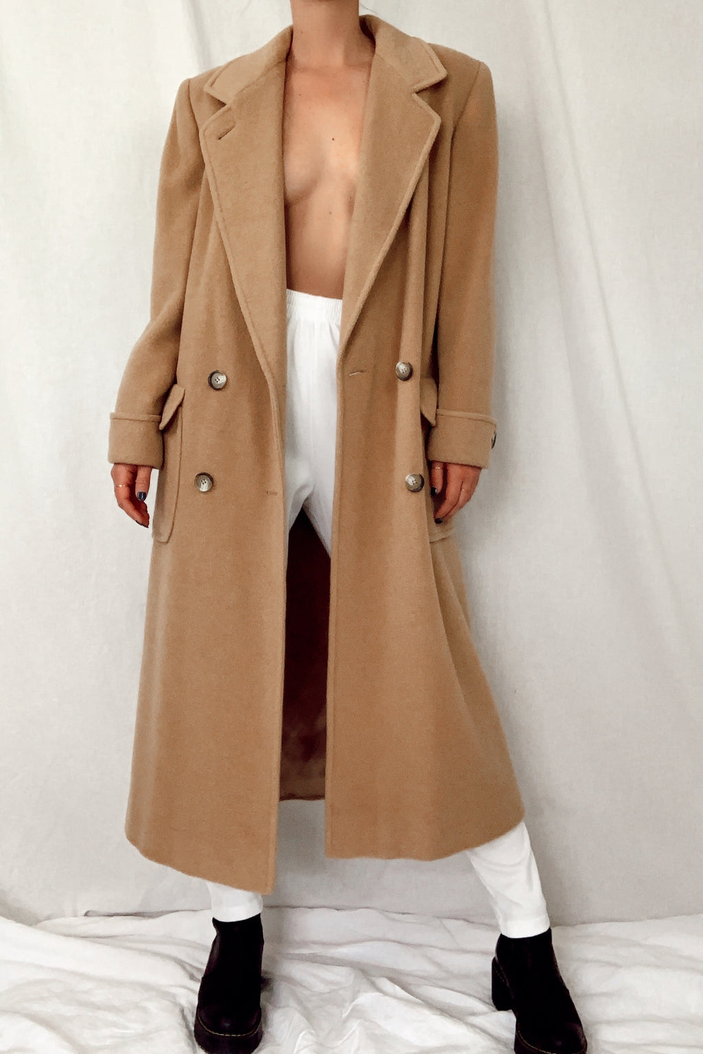 Camel Hair Duster