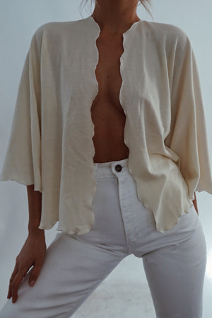 Softest Cream Cardigan (S-M)