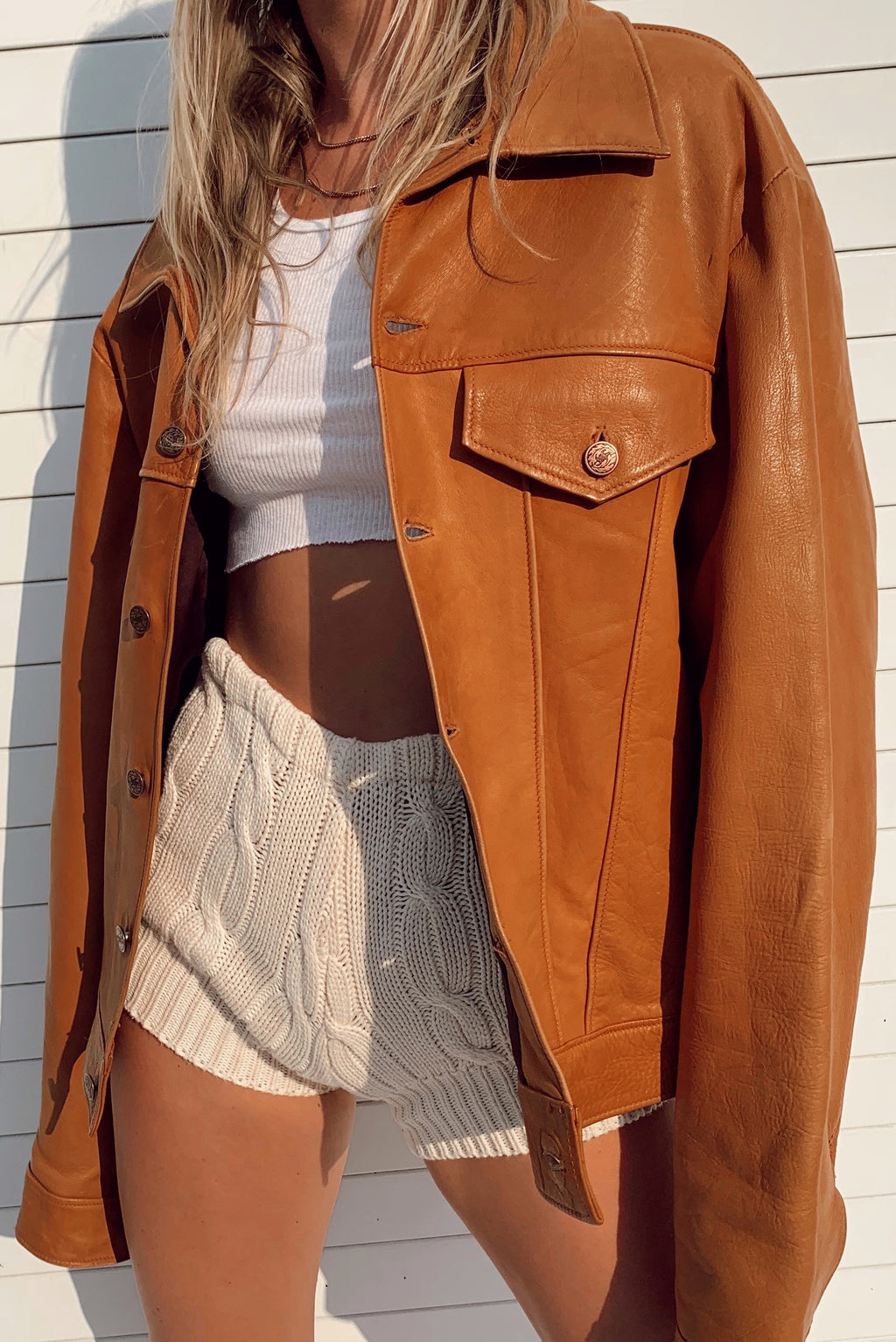 Perfect Leather Jacket (S-L)