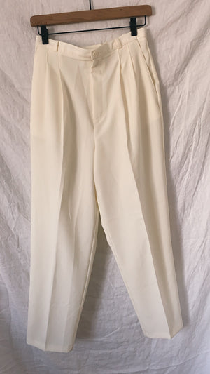 White Pleated Pants (28/29)