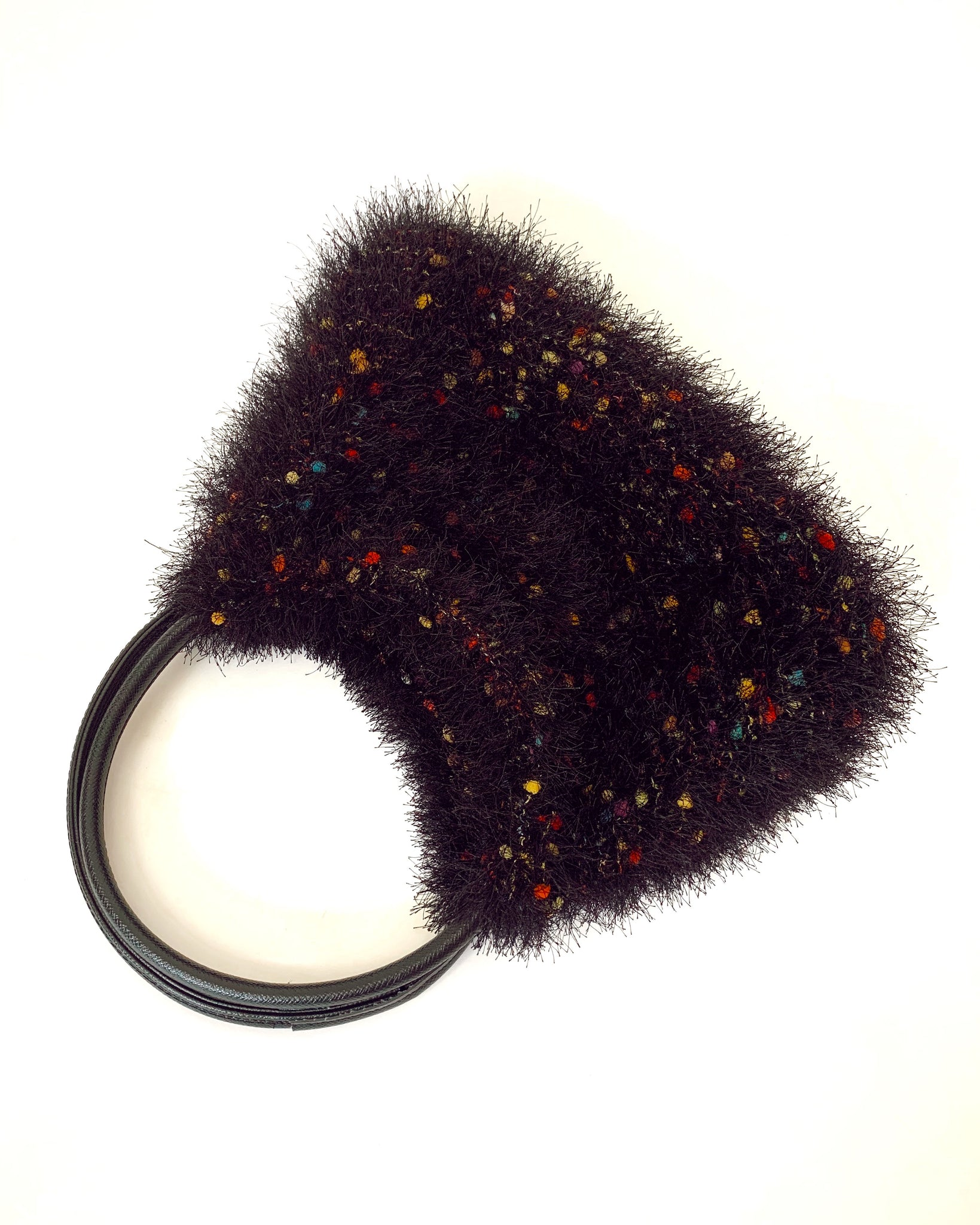 Italian Fuzzy Shoulder Bag