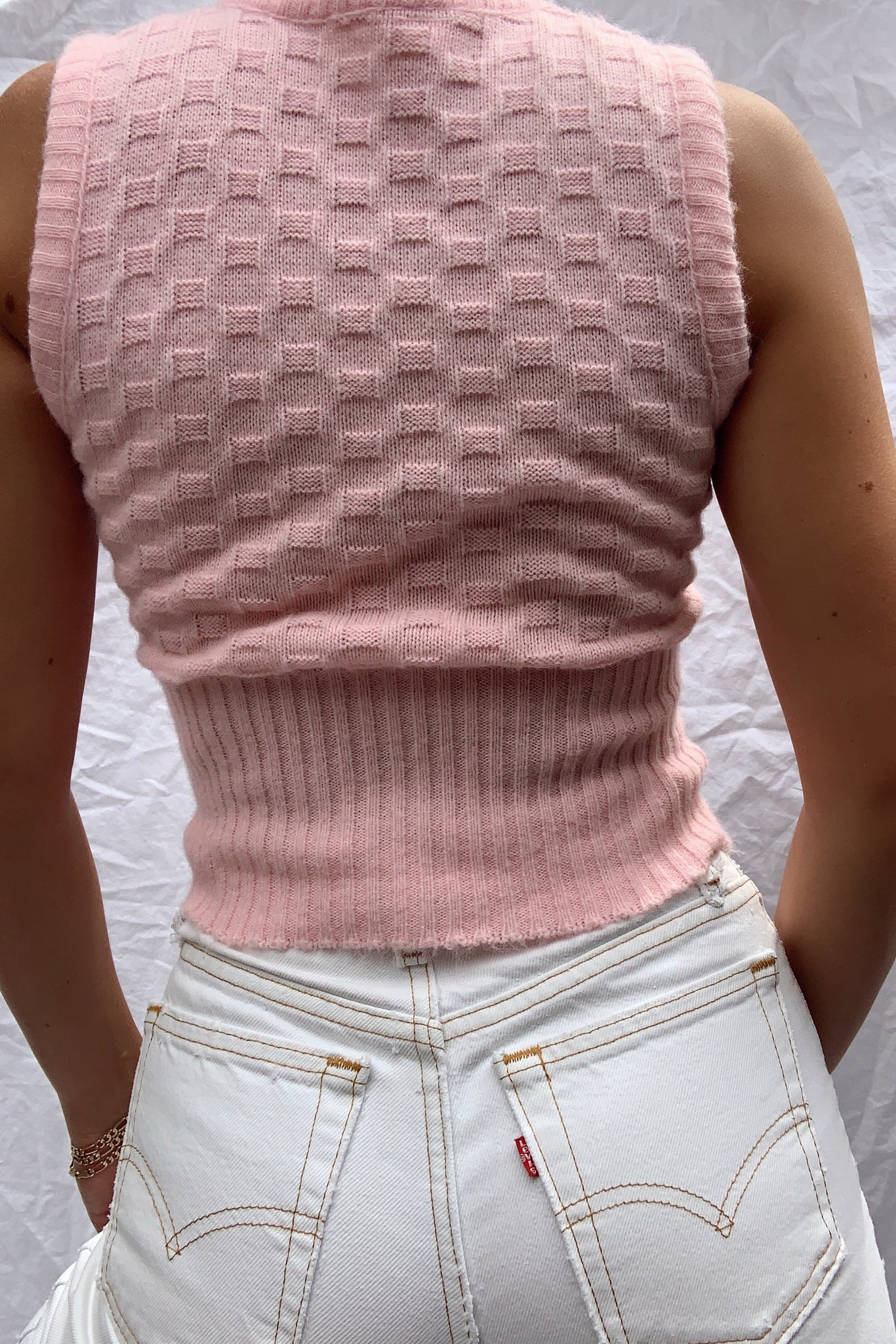 Adorable 60's Knit Tank (S)