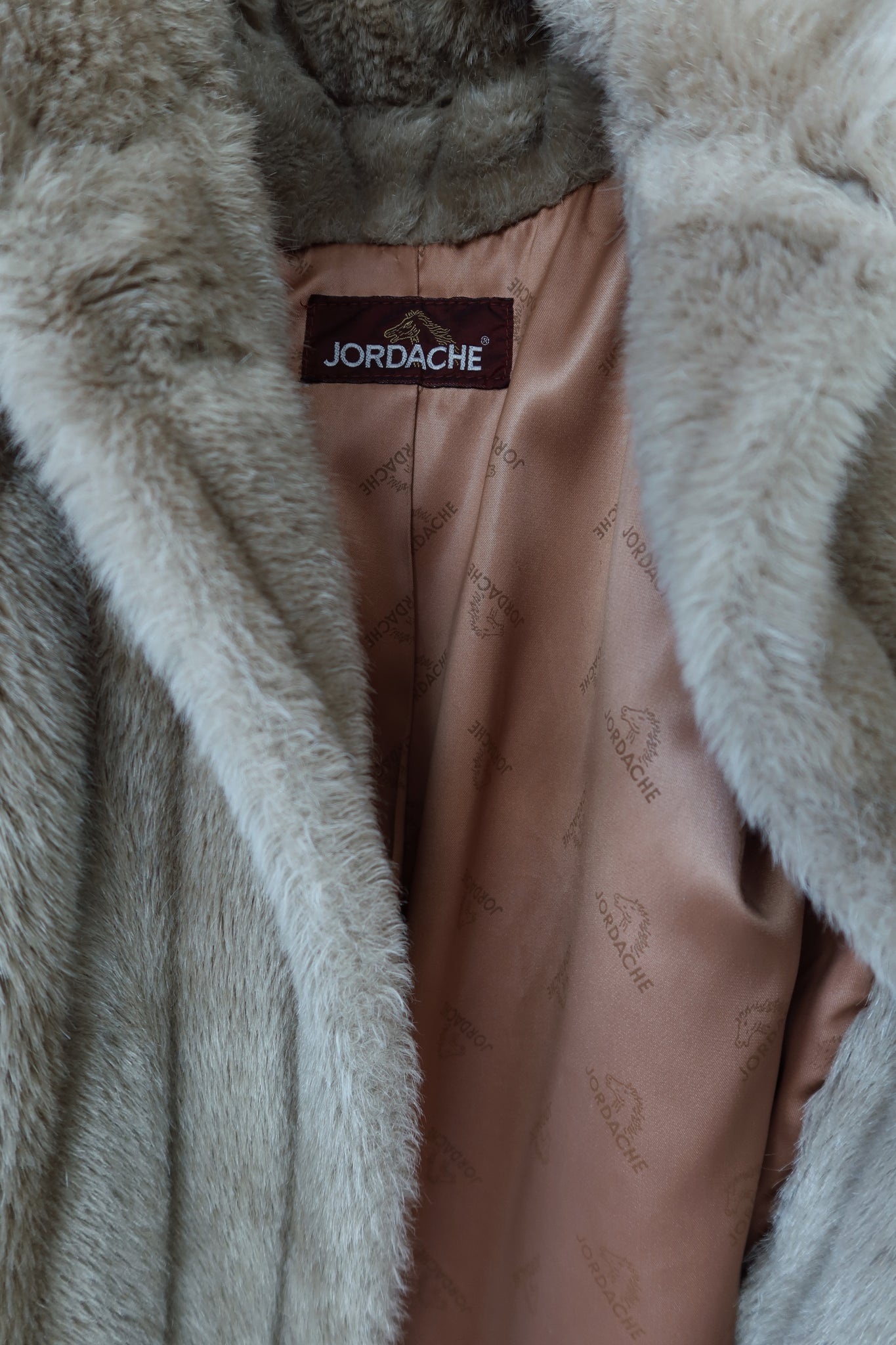 faux fur Jordache coat (S-L)