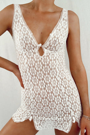 Adorable Dainty Lace Slip