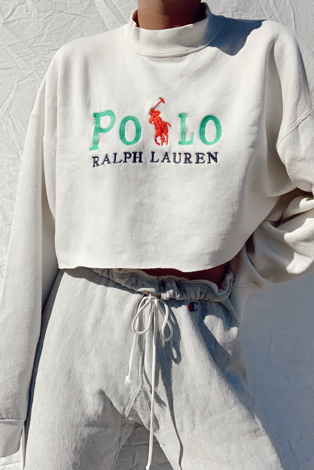 Cropped Polo Ralph Lauren Crew Neck (S-L)