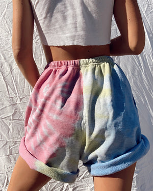 Tie Dye Champion Sweat Shorts (S-L)