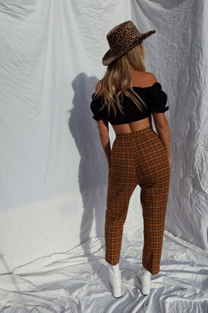 70's Plaid Pants (24/25)
