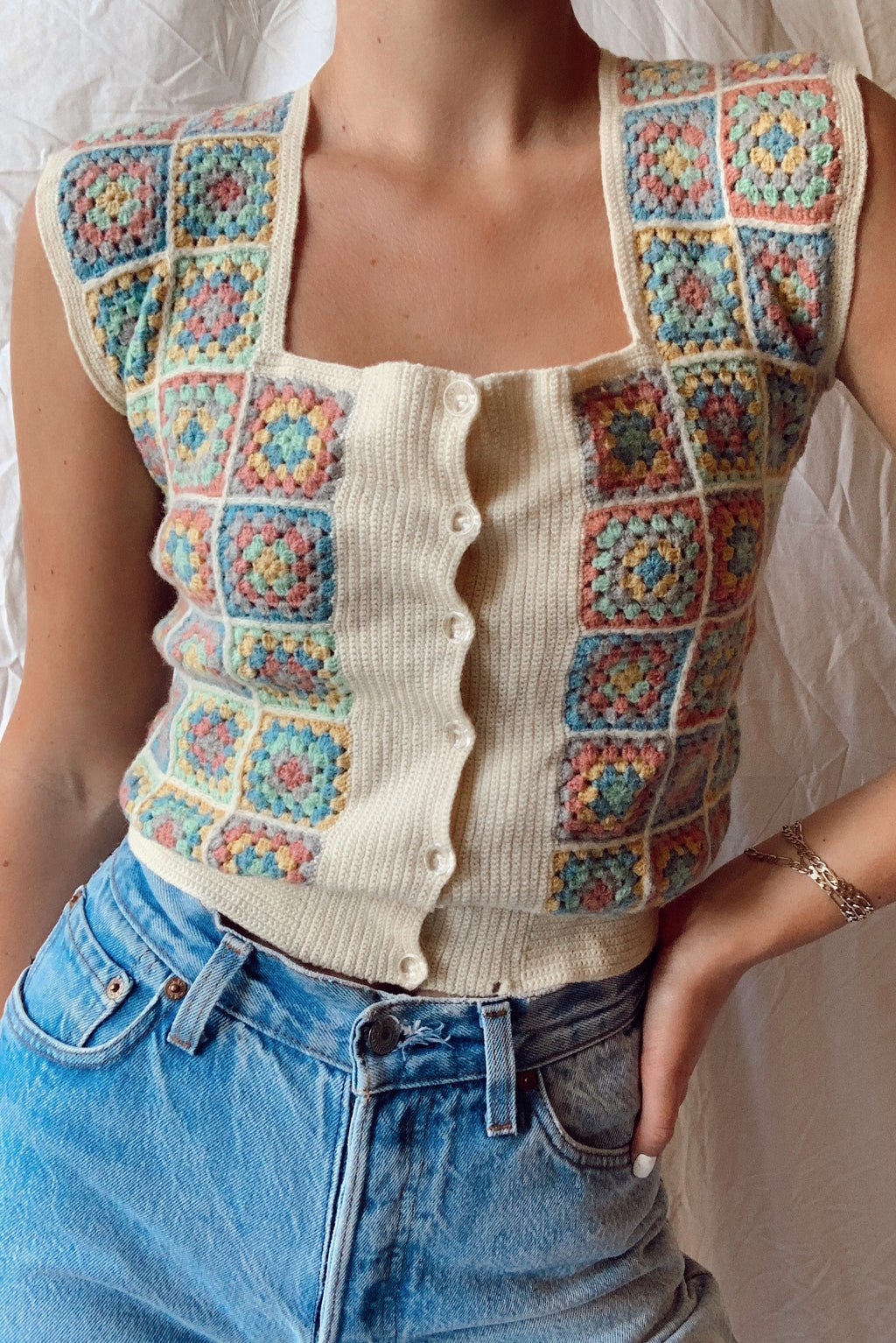Fabulous 60's Top (S)