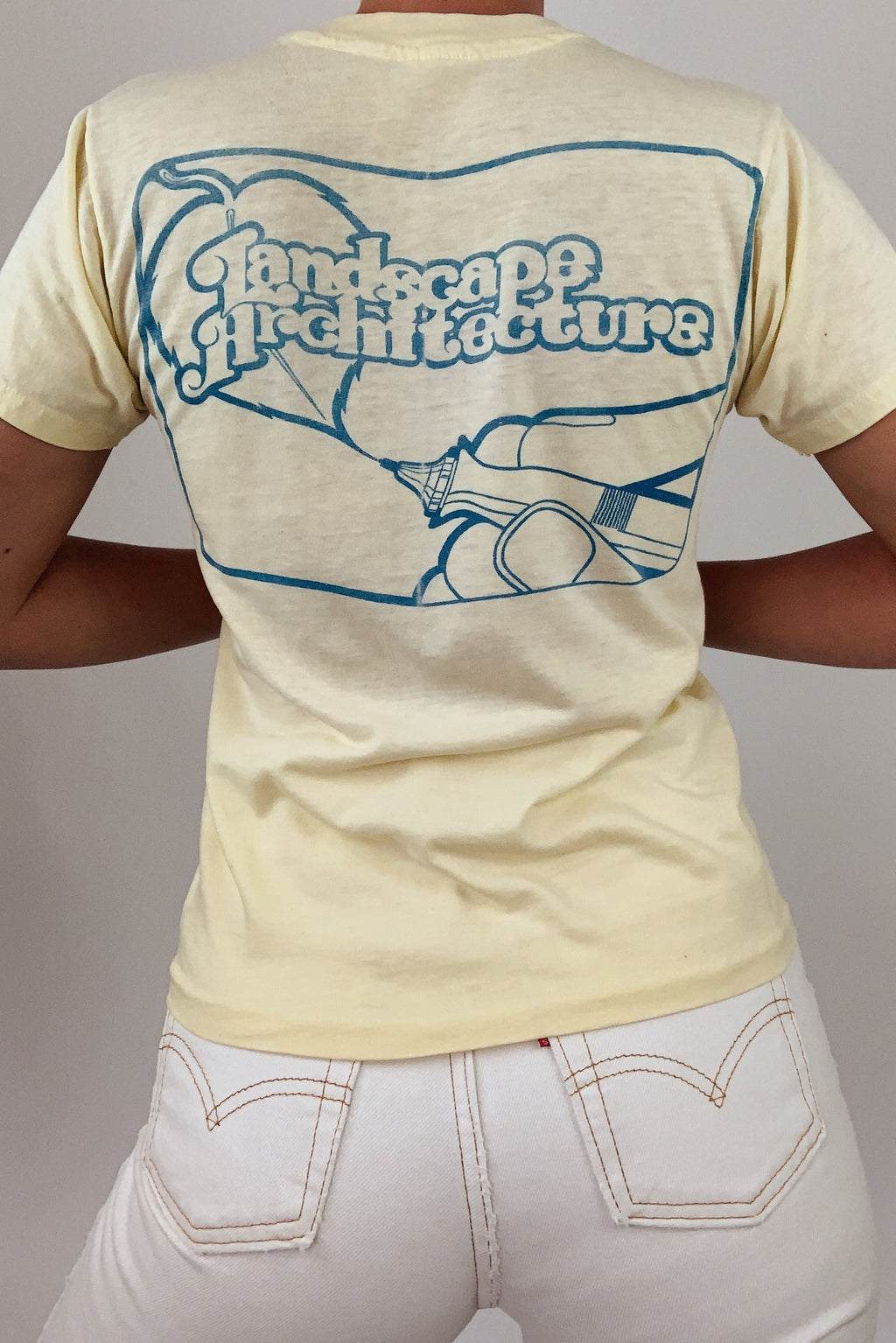 """Landscape Architecture"" Single Stitch T (XS-S)"