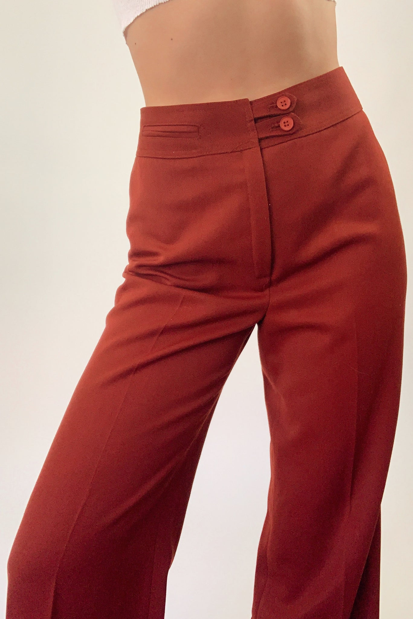Flared Trousers (25/26)