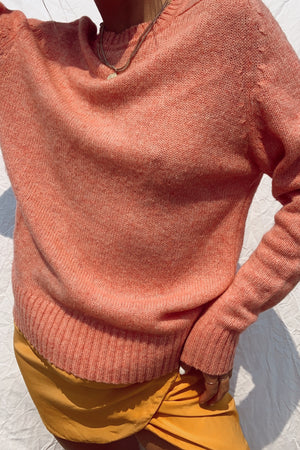 Gorgeous Coral Knit (S-L)