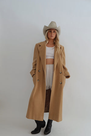 Camel Hair Duster (S-M)