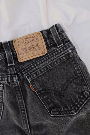 Kids Orange Tab Black Levi's 550 (22)