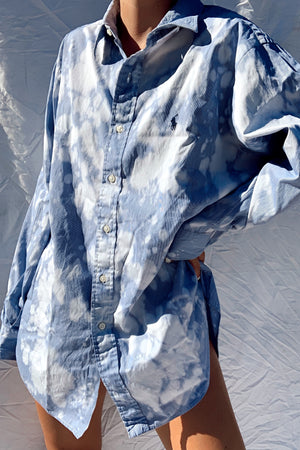 Bleach Dyed Ralph Lauren Button Down (S-L)