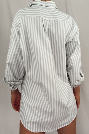 Striped Button Down (S-XL)