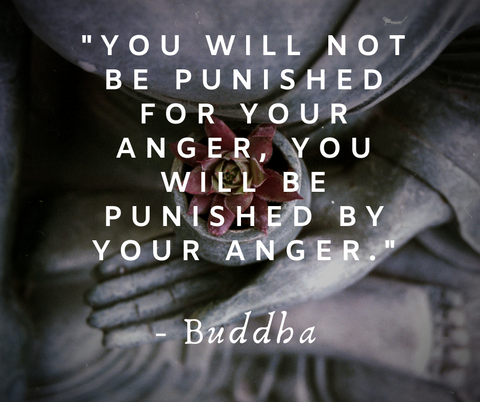 """""""You will not be punished for your anger, you will be punished by your anger."""""""