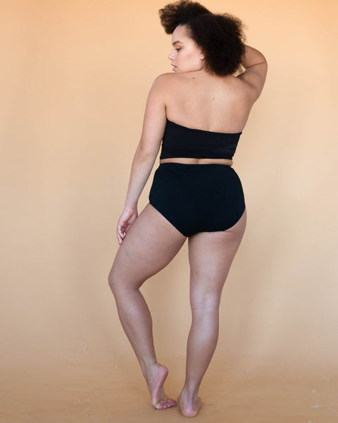 Charcoal Lena High Waist Undies