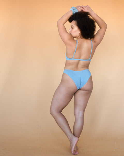 Powder Blue Maya Low Waist Undies