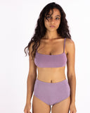 Mauve Leo High Cut Bra