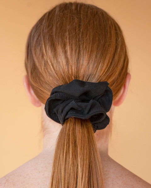 Charcoal Malala Scrunchie