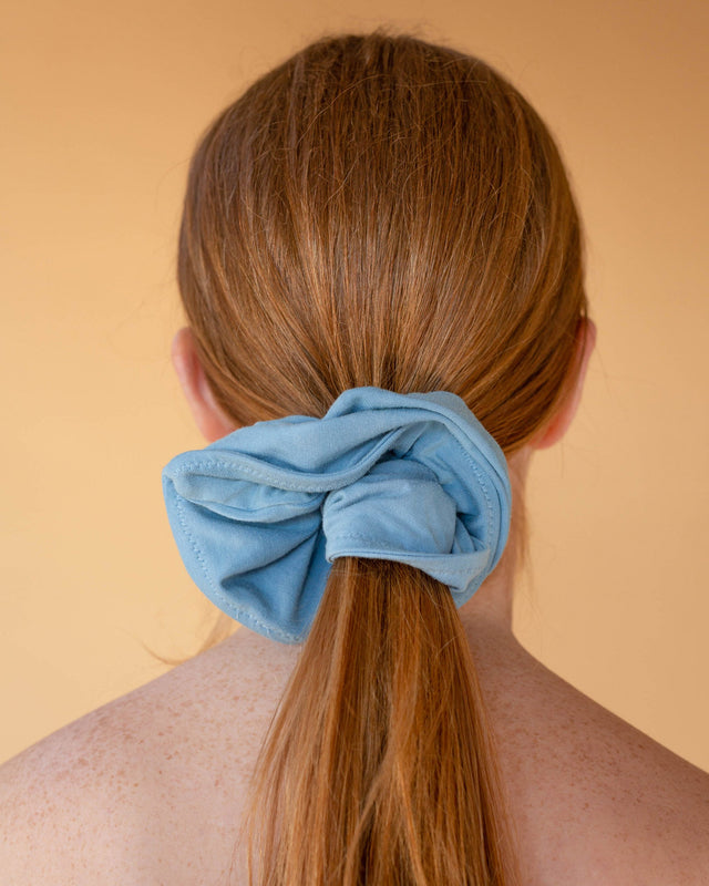 Powder Blue Malala Scrunchie